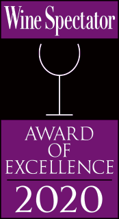 Award of Excellence 2020 Wine Spectator